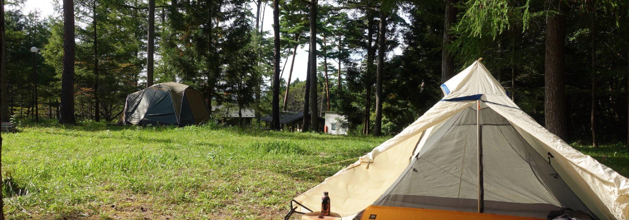 グリーンキャンプなかだ キャンプ キャンプ場